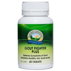Nature's Sunshine Gout Fighter Plus 60 Tablets - NS21380