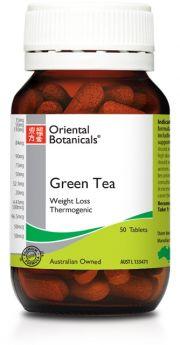 Oriental Botanicals Green Tea x 50 Tablets