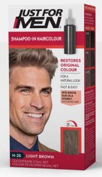 "Just For Men Shampoo Hair Colour ""H25 Light Brown"""