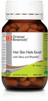 Oriental Botanicals Hair Skin and Nails Excel x 60