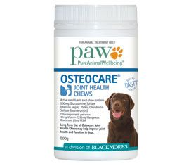 Blackmores PAW Osteocare Joint Health Chews **300g**