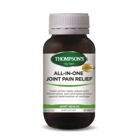 Thompson's All-in-One Joint Pain Relief 60 Tablets - TMJPR60