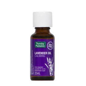 Thursday Plantation Lavender Oil 100% Pure 25ml - TTLAV25