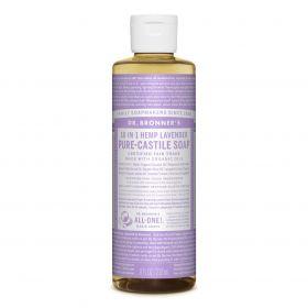 Dr Bronner's Pure-Castile Liquid Soap - Lavender 237mL