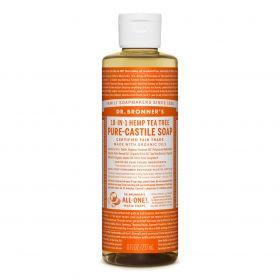 Dr Bronner's Pure-Castile Liquid Soap - Tea Tree 237mL