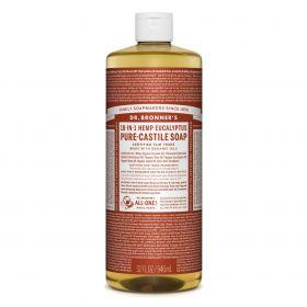 Dr Bronner's Pure-Castile Liquid Soap - Eucalyptus 946mL