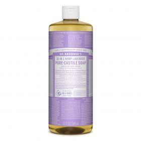 Dr Bronner's Pure-Castile Liquid Soap - Lavender 946mL