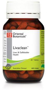 Oriental Botanicals Livaclean 30 Tablets