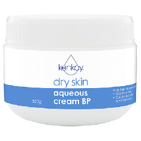 Aqueous cream BP Dry Skin 500g