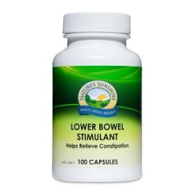 Nature's Sunshine Lower Bowel Stimulant 100 Capsules - NSP0990