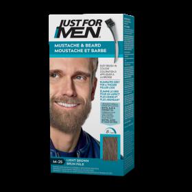 """Just For Men Moustache&Beard """"M25 Light Brown"""" 14g"""