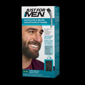 """Just For Men Moustache&Beard """"M45 DARK BROWN"""" 14g"""