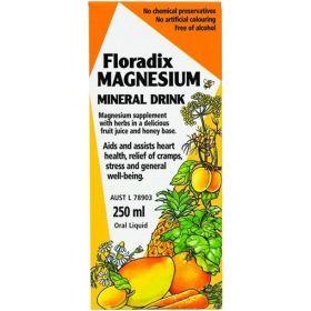 Floradix Magnesium Mineral Drink 250ml - FLMAGNE