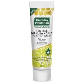 Thursday Plantation Tea Tree & Manuka Honey Healing Balm 30g - TTMHBLM30