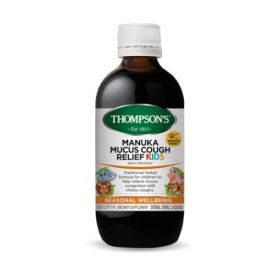 Thompson's Manuka Mucus Cough Relief Kids 200ml - TMMCMCRK