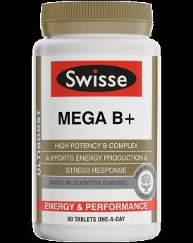 Swisse Ultiboost Mega B+ X 60 Tablets