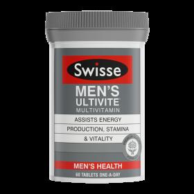 Swisse Mens Ultivite Multivitamin X 60 Tablets
