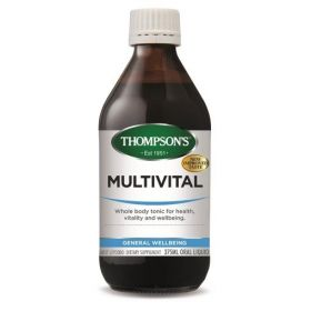 Thompson's MultiVital Liquid 375ml - TMMVL375