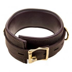 Bound Leather Collar - LCL