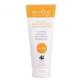 MooGoo Natural Soothing msm moisturiser 200g