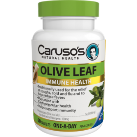 Caruso's Olive Leaf Immune Health X 60Tablets
