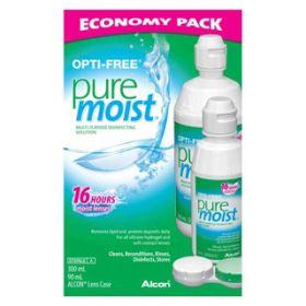 Opti-Free PureMoist Economy Pack 300mL + 90mL
