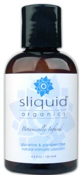 Sliquid Organics Natural 125ml - SQORNAT1