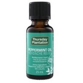Thursday Plantation Peppermint Oil 25ml - AU - TTPOIL25