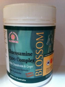 Blossom Glucosamine 1500 Complex With Chondroitin & Ginger X 180