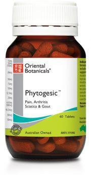 Oriental Botanicals Phytogesic x 60 Tablets