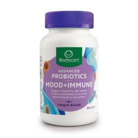 Lifestream Advanced Probiotics Mood+Immune 30 Caps - LMAPMI30