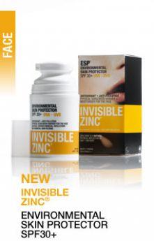 INVISIBLE ZINC Environmental Skin Protector 50mls