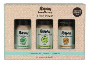 Raww Aromatherapy Trio - Fresh Vibes