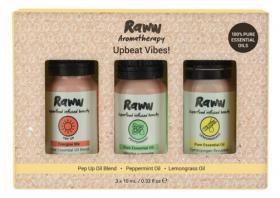 Raww Aromatherapy Trio - Upbeat Vibes