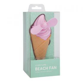Sunnylife - Beach Fan Ice Cream Pink