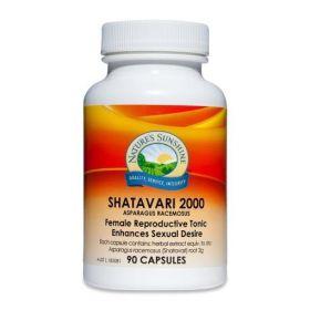 Nature's Sunshine Shatavari 2000 90 Capsules - NS17141