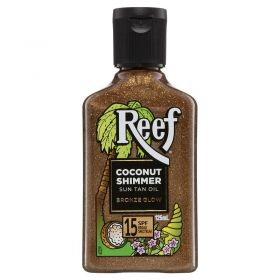 Reef Sun Tan Oil SPF 15+ Coconut Shimmer- 125ml