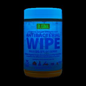 BLISMA Antibacterial Wipes 75