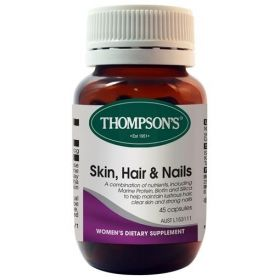 Thompson's Skin, Hair & Nails 45 Capsules - TMSHN45