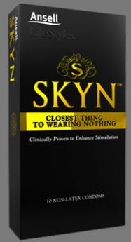 Ansell LIFESTYLES SKYN NON-LATEX 10 Condoms
