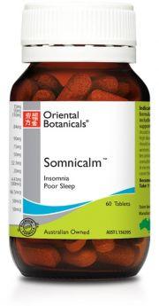 Oriental Botanicals Somnicalm x 60 Tablets