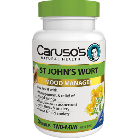 Caruso's St John's Wort Mood Manager X 60Tablets