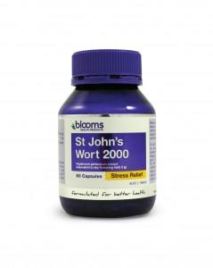Blooms St John's Wort 2000mg capsules 60 Caps