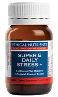 Ethical Nutrients Super B Daily Stress 60 Tablets
