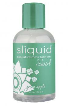 Sliquid Swirl Green Apple 125ml - SQSWGAP