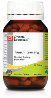 Oriental Botanicals Tienchi Ginseng x 50 tablets