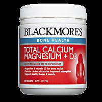 Blackmores Total Calcium + Magnesium + D3 200 Tabs
