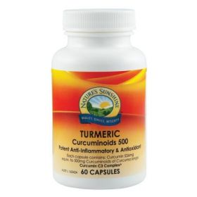 Nature's Sunshine Turmeric Curcuminoids 526mg 60 Capsules - NS17133