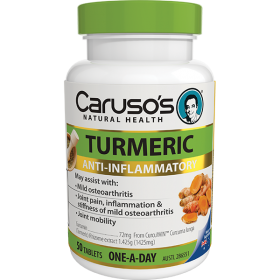 Caruso's Turmeric Anti-Inflammatory 50Tablets