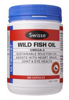 Swisse Ultiboost Wild Fish Oil x 400 Caps